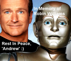 Rest In Peace Robin Williams by GaaraxHinata6666