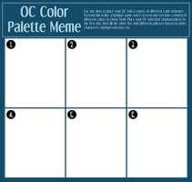 OC Color Palette Meme by Shockzboy