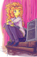 Sitting mic by Jowybean