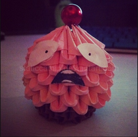 3D Origami: Lulu Cupcake (League of Legends) by inyeon