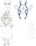 violet ref sheet ROUGH SKETCHES by Prepare-Your-Bladder