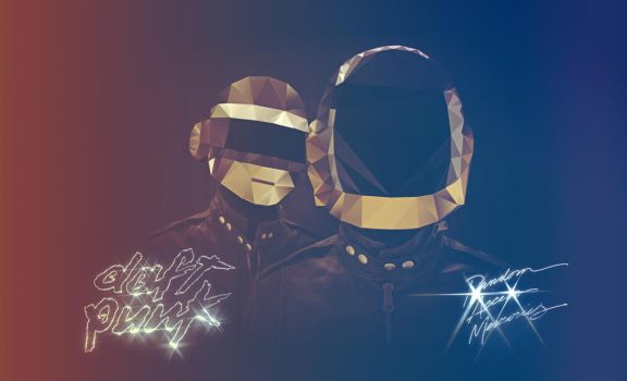 Daft Punk Polygon Pixel part2 by lickmystyle