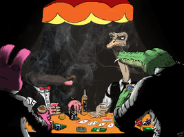 Card Players by Speydi