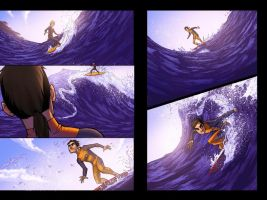 Riptide Pride pgs 27 and 28 by Fernosaur