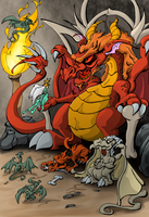 The king of the dragons by nuvalo