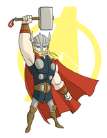 avengers: thor by the-slift