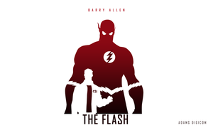 The Flash (Barry Allen) - Fan Art by gdiamond360