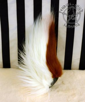 Deer tail side view by fenrirschild