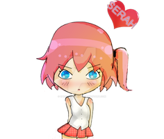 Chibi SERAH) final fantasy  (WIP) by Spice-Twinkle-Pop