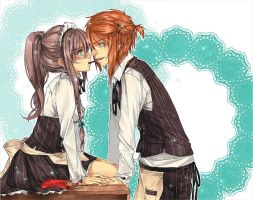 .Pocky Game. by crys-art