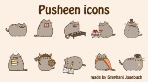 Pusheen icons by Stephani-Josebuch