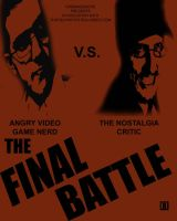 AVGN NC Final Battle Poster 2 by Toe-Knee-Bee-Ears