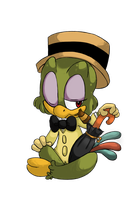 Disney 'Good Guys Collab'- Jose Carioca by RetroRag