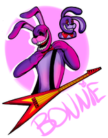 Bonnie the Bunny by coulrophiliacs
