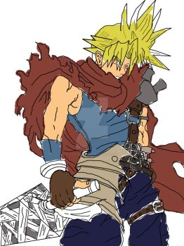Cloud-Strife by outlawjettro