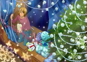 Christmas decorations now by su-ga-me