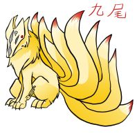 Ninetails by WindGriffin