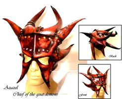 Azazel Demon Mask by Skinz-N-Hydez