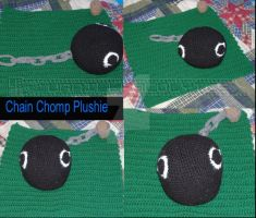 Crochet Chain Chomp by VanillaAcolytes