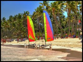 Punta Cana beach - HDR by simoner