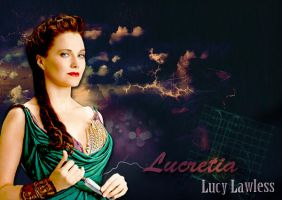 Lucy as Lucretia by scarletartista