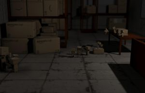 Danbo Warehouse by PolyAce