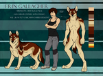 BirthRight - Erin Gallagher - Reference Sheet by SemperFerus