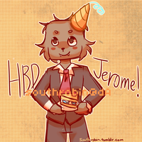 Belated Birthday JeromeASF by Southrobin