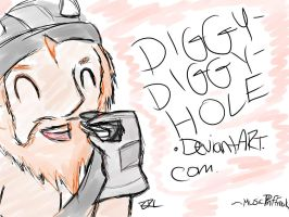 Diggy-Diggy-Hole ID by cosartmic