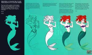 Hipster Ariel Tutorial by Wynta-Illustrations