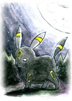 Umbreon Sketch Card by melllic