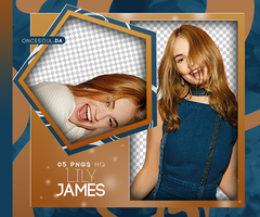 PACK PNG #04 | LILY JAMES by oncesoul