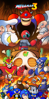 Mega Man 3 by SonicKnight007