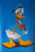 Donald Duck by billywallwork525