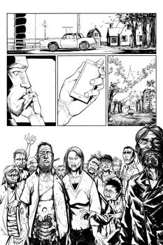 UnDead End pg. 32 INKS by J-WRIG