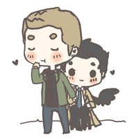 Destiel by mai-mind-freak