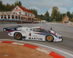 Lancia LC2-85 at Spa Belgium 1985 by huckerback6