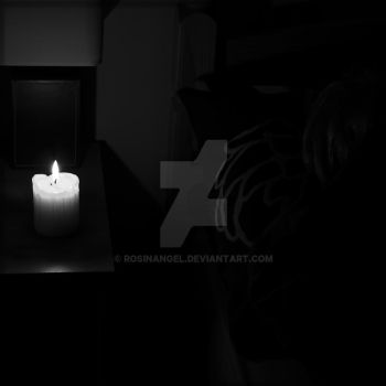 Night by candlelight 004 by RosinAngel