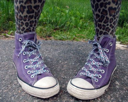 Leopards and Converse by Tainted-Kayla