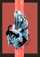 Kitty  Pryde Color by Robbertopoli