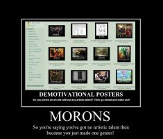 Demotivational Poster of a Demotivational Poster 2 by thesalsaman