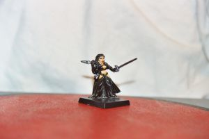 Swashbuckling Lady in Black by BambooKnight