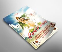 Cool Summer Party Flyer by snkdesigns