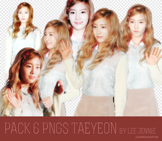 Pack 6PNGS Taeyeon by LeeJennie~ by LeeJennie