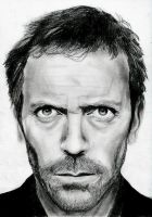 Hugh Laurie - Dr Gregory House by xjorieke