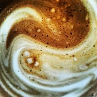 Yin and Yang in my coffee by attomanen