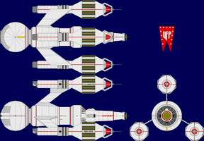 USS Liberator TOS Multi-View by captshade