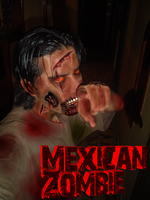 Mexican Zombie by Giosuke