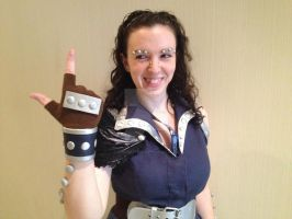 Fairy Tail: Genderbent Gajeel Cosplay (Candid) by Steamstress