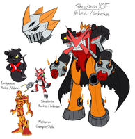 Shoutmon X3F WIP by Midnitez-REMIX